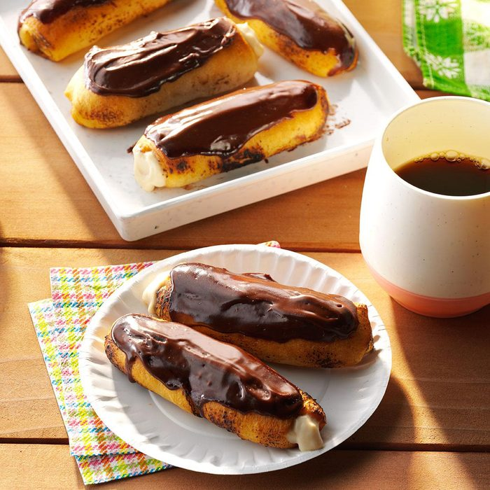 Eclairs on the Grill