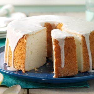 Vanilla Bean Angel Food Cake