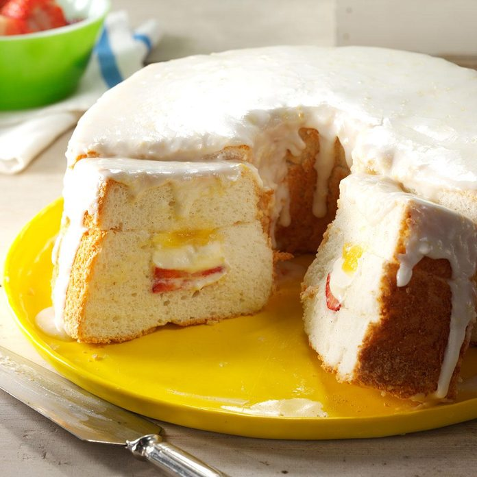 Inspired by the Angel Food Cake Technical Challenge
