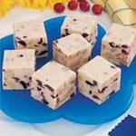 Cranberry Walnut White Fudge