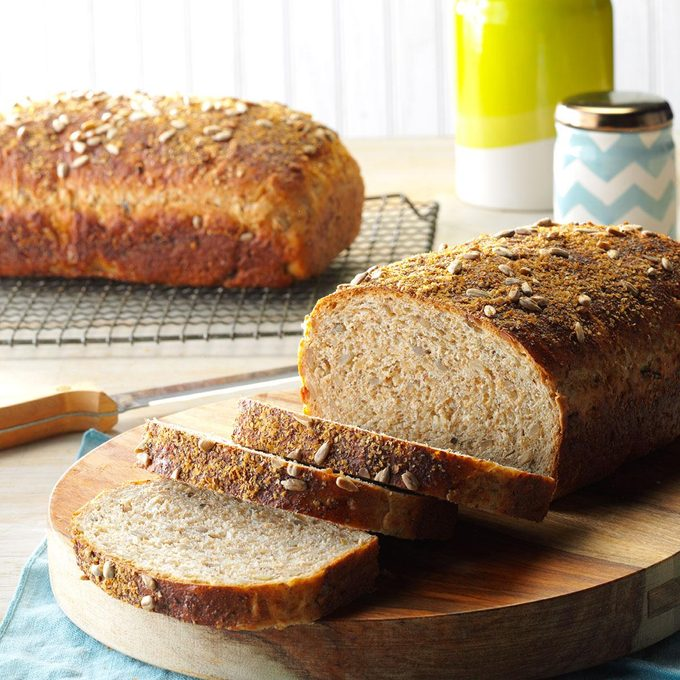 Wild Rice Bread with Sunflower Seeds