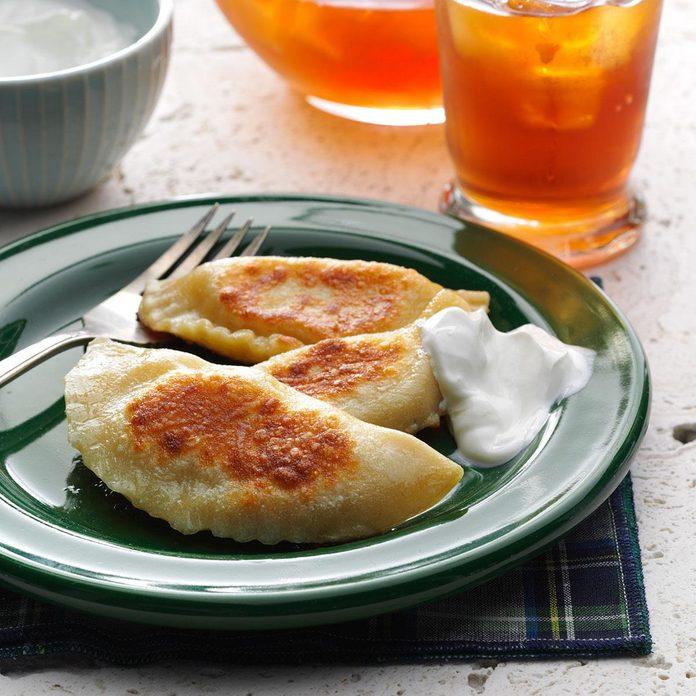 Homemade Polish Pierogi