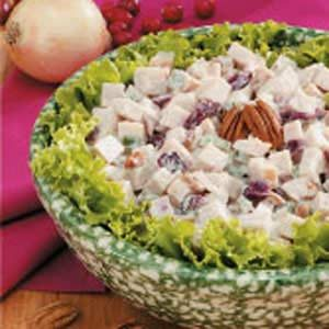 Cranberry-Chutney Turkey Salad