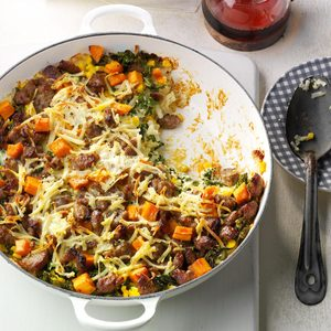Hash Brown Maple Sausage Casserole