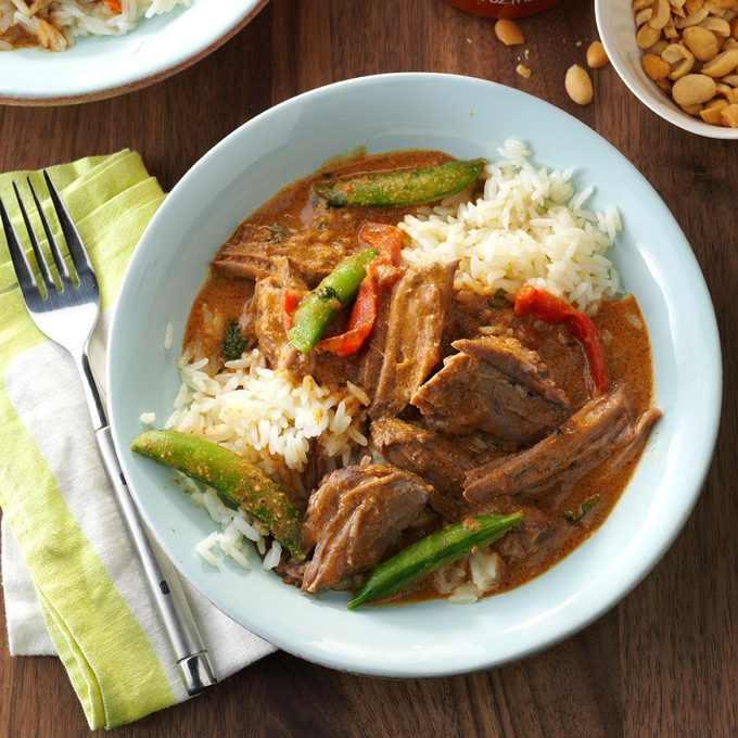 Thai Coconut Beef