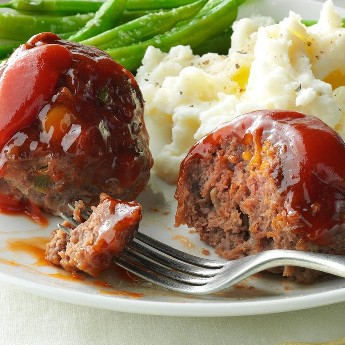 Muffin Pan Meatballs