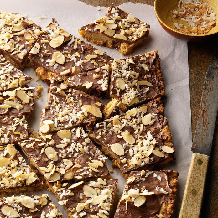 Coconut-Almond Cookie Bark