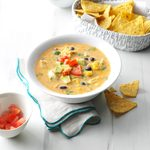 Southwest Chicken Barley Chowder
