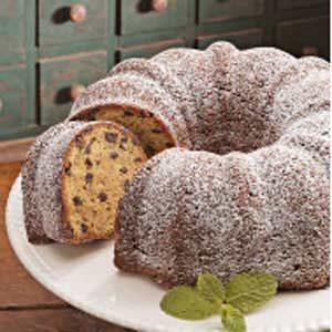 Vanilla Chocolate Chip Cake