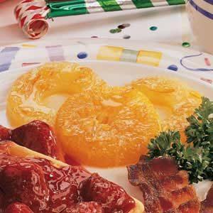 Maple-Glazed Fruit Rings