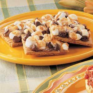 Chocolate Marshmallow Squares