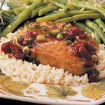 Quick Cranberry Pork Chops