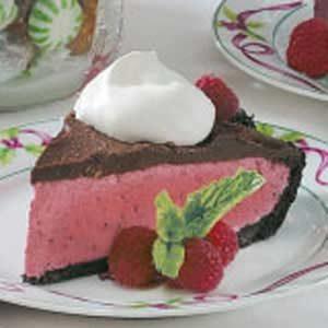 Fudge Berry Pie