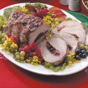 Berry Pretty Pork Roast
