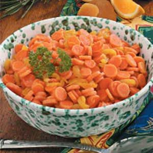 Apricot-Orange Glazed Carrots