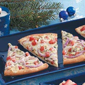 Blue Cheese Appetizer Pizza