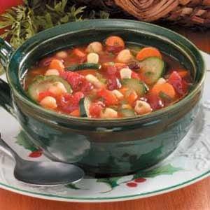 Hearty Vegetable Bean Soup