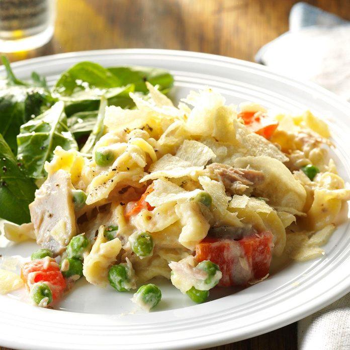 Slow-Cooker Tuna Noodle Casserole