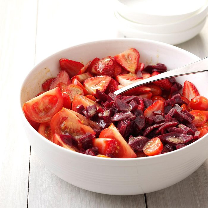 Color It Ruby Salad