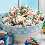 Peanut Candy Popcorn Balls