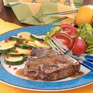 Flavorful Braised Pork Chops