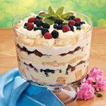 Angel Berry Trifle