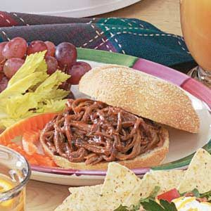 Shredded Barbecue Beef