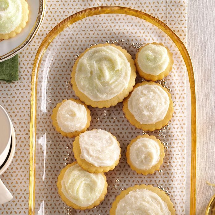 Frosted Butter Cutout Cookies