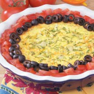 Artichoke Cheese Oven Omelet