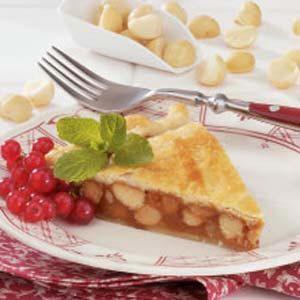 Macadamia Caramel Tart