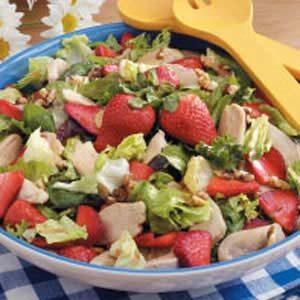 Chicken Strawberry Salad