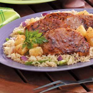 Aloha Pork Chops