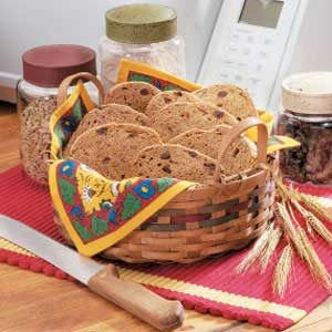 Raisin Wheat Bread