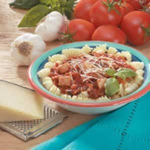 Tomato-Basil Chicken Spirals