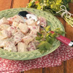 Zesty Low-Fat Potato Salad