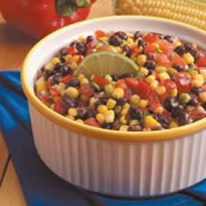 Quick Corn and Black Bean Salad