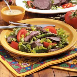 Beef Tenderloin Salad