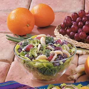 Grape Broccoli Salad