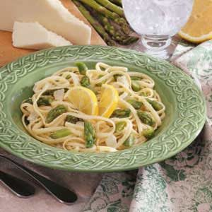 Asparagus Linguine