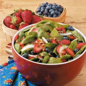 Spinach Berry Salad