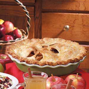 Orange-Glazed Apple Pie