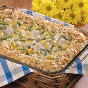 Crunchy Vegetable Bake