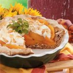 Contest-Winning Coconut Peach Pie Recipe