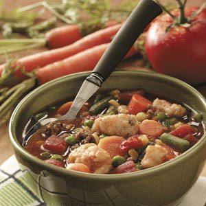 Dumpling Vegetable Soup