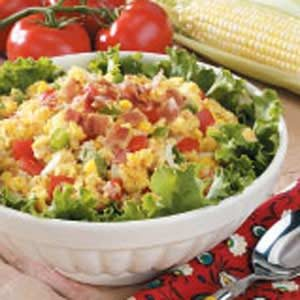 Fresh Cornbread Salad