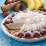 Strawberry Banana Pie