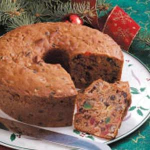 Moist Applesauce Fruitcake