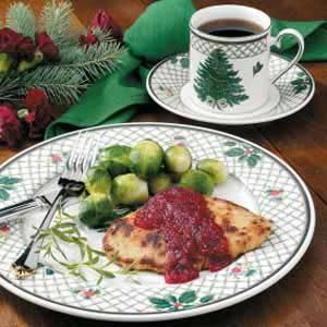 Cranberry-Orange Turkey Cutlets