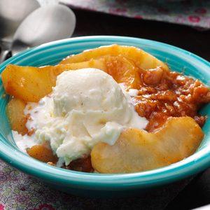Butterscotch Apple Crisp