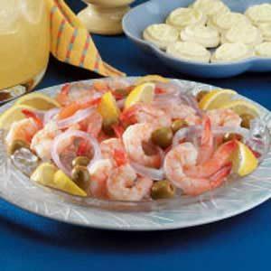 Tangy Marinated Shrimp